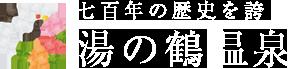 700年の歴史を誇る 湯の鶴温泉